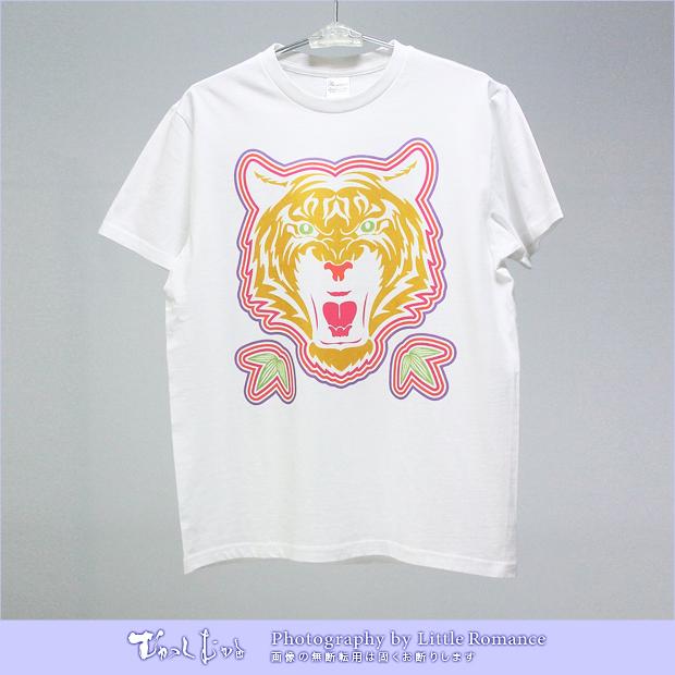メンズ半袖Tシャツ,むかし虎