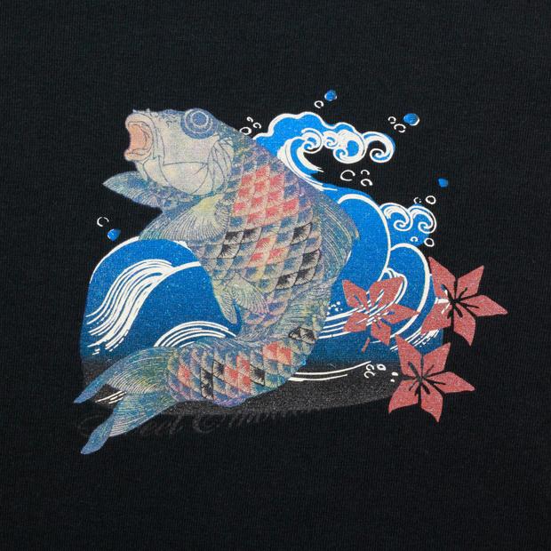 メンズ半袖Tシャツ,登鯉'14