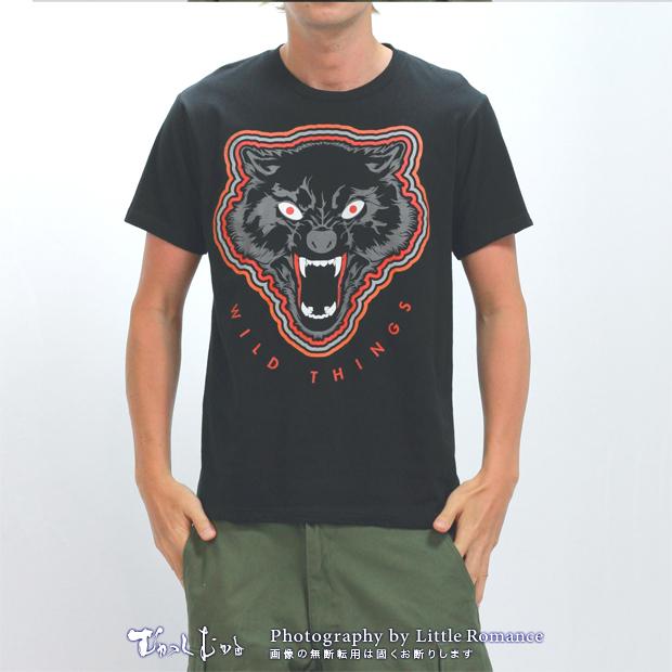 メンズ半袖Tシャツ,むかし豹