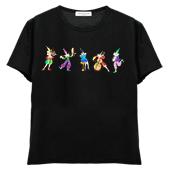 レディスTシャツ,半袖シルケット,ピエロのコンサート1