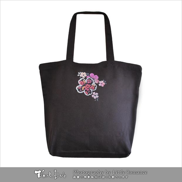 和柄トートバッグ,小桜