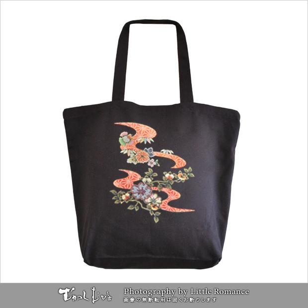 和柄トートバッグ,橘紅流水