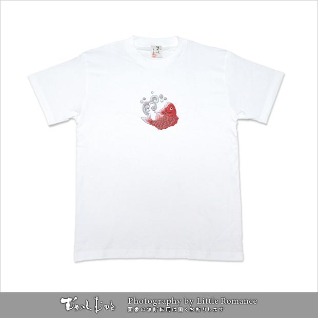 和柄メンズ半袖Tシャツ