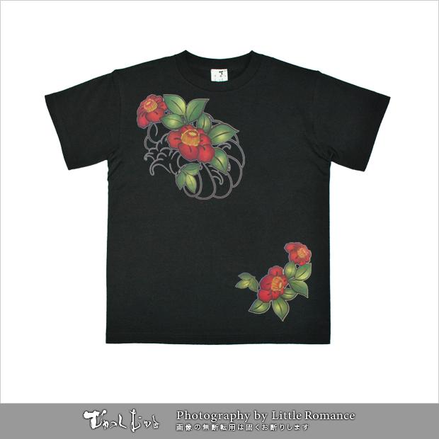 メンズ和柄半袖Tシャツ,モンモン