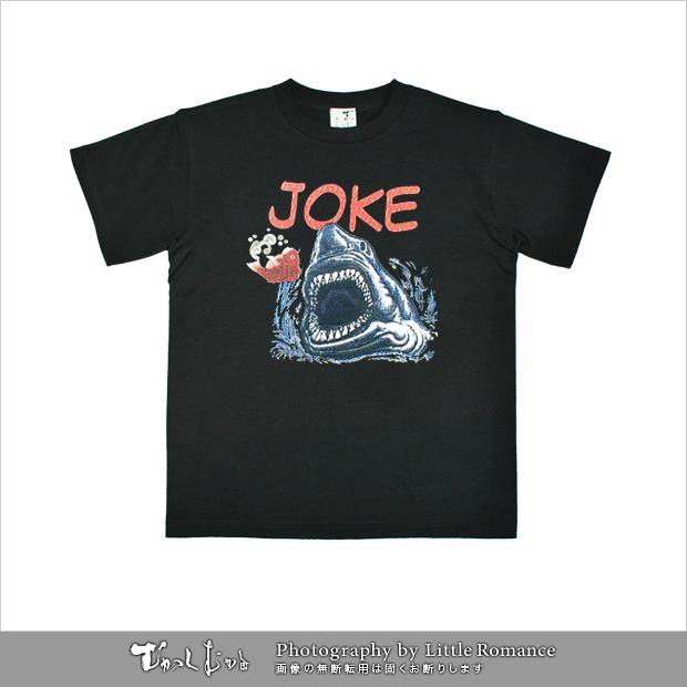 メンズ和柄半袖Tシャツ,JOKE