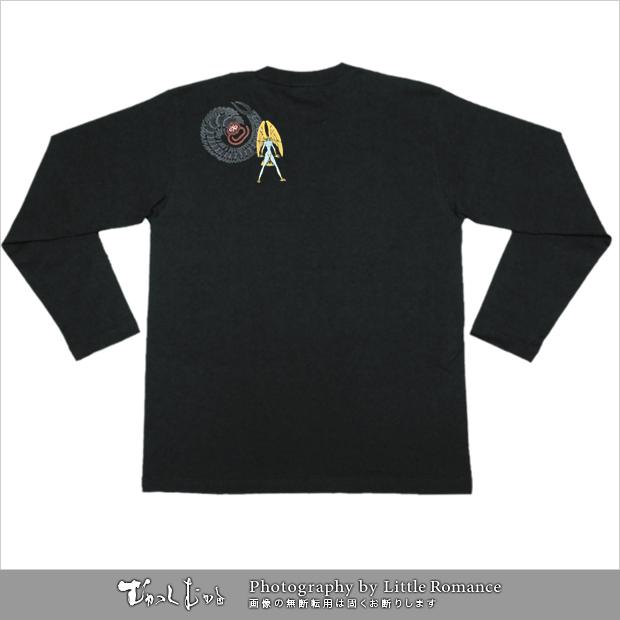 デビルマン和柄Tシャツ,デビルマンと青百足