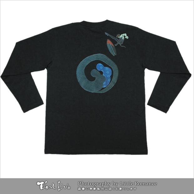 デビルマン和柄Tシャツ,波乗りデビルマン