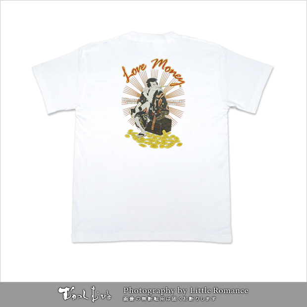 メンズ和柄半袖Tシャツ,大判泥棒