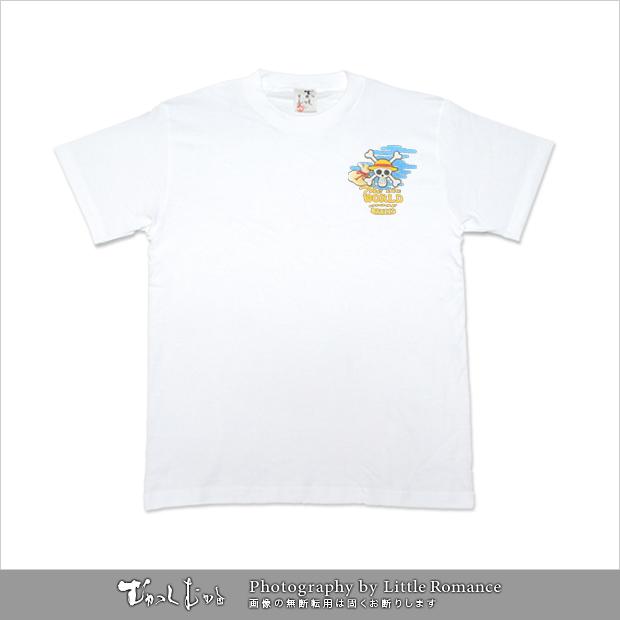 むかしむかし★ワンピースコレクション メンズ半袖Tシャツ 布袋ルフィ