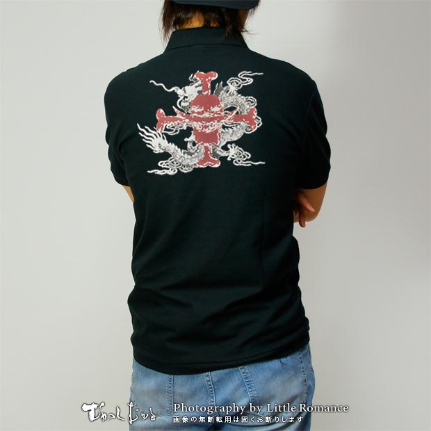 和柄メンズポロシャツ,onepiece,ワンピース,牢獄のエース