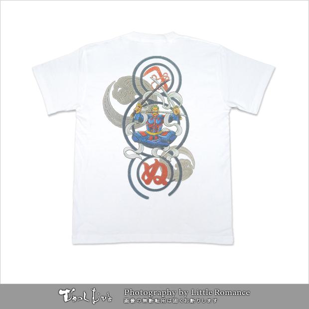 むかしむかし★ワンピースコレクション メンズ半袖Tシャツ 毘沙門天ゾロ
