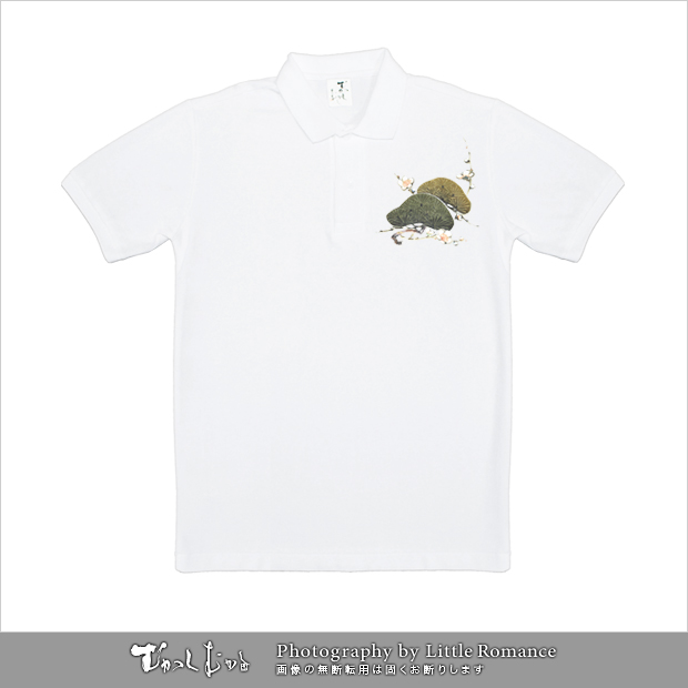和柄メンズポロシャツ,onepiece,ワンピース,坂本チョッパー日本の夜明け