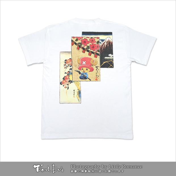 むかしむかし★ワンピースコレクション メンズ半袖Tシャツ 坂本チョッパー日本の夜明け
