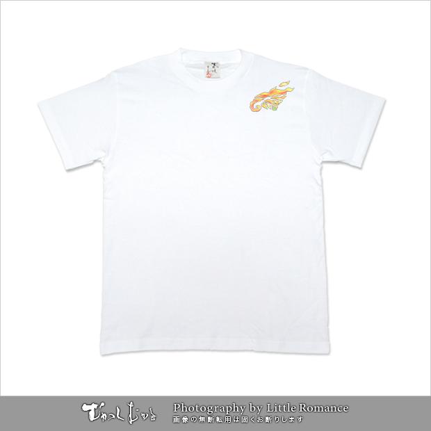 メンズ和柄半袖Tシャツ,和装鳳凰