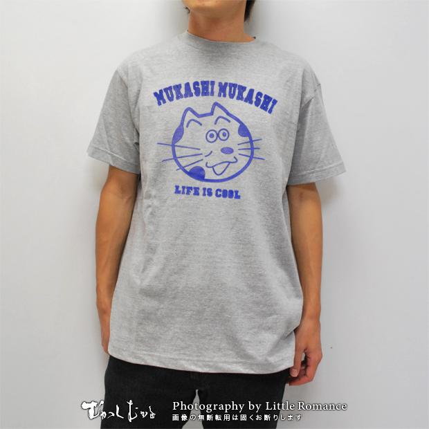 メンズ和柄半袖Tシャツ,化け猫